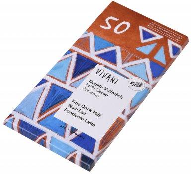 Шоколад Vivani молочный органический 50% какао 80 г (4044889002560)