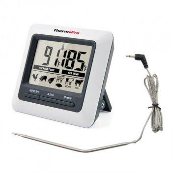 Цифровой профессиональный термометр для мяса ThermoPro TP-04 (от 0ºС до + 250ºС) + таймер + магнит