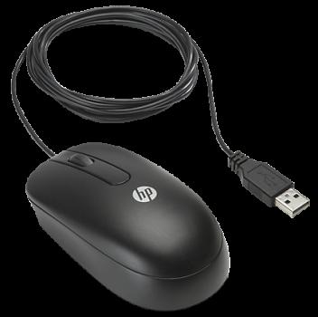 Миша HP Optical Scroll USB Black (QY777AA)