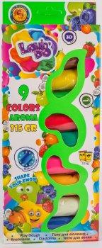 Набор теста для лепки Lovin'Do Ассорти 9 цветов Арома + Ассорти 4 цвета с глиттером 20 г + 4 цвета Неон 20 г (41081)