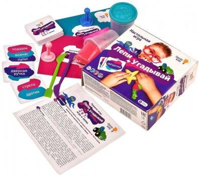 Игра детская настольная Genio Kids Лепи и угадывай (TA1303) (4814723006517)