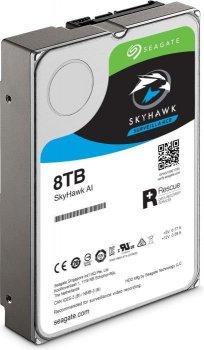 "Жорсткий диск Seagate SkyHawk Al HDD 8TB 7200rpm 256MB ST8000VE000 3.5"" SATAIII"
