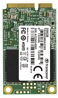SSD накопичувач Transcend MSA230S 128GB mSATA 3D TLC (TS128GMSA230S) (6516287)