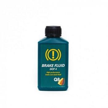 Гальмівна рідина Q8 Brake Fluid DOT-4 0,25л