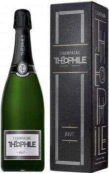 Вино игристое Theophile Champagne Brut 1er Gift Box белое сухое 0.75 л 12% (3114080154052)