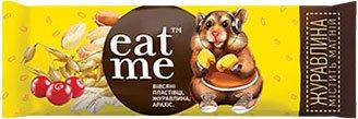 Упаковка батончиков EatMe зерновых с клюквой глазированых 30 г х 10 шт (4820097897705)