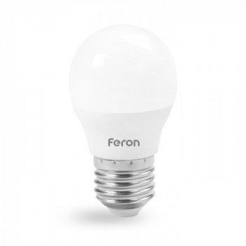 Світлодіодна лампа Feron LB-195 G45 Е27 230V 7W 720Lm 4000K