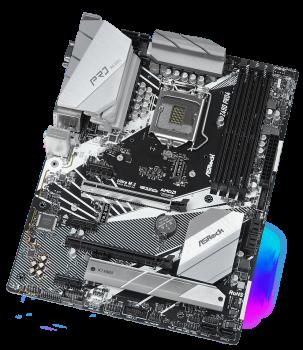 Материнська плата ASRock Z490 Pro4 (s1200, Intel Z490, PCI-Ex16)