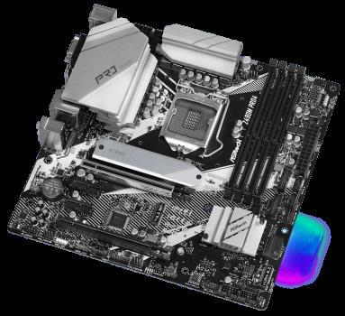 Материнська плата ASRock Z490M Pro4 (s1200, Intel Z490, PCI-Ex16)