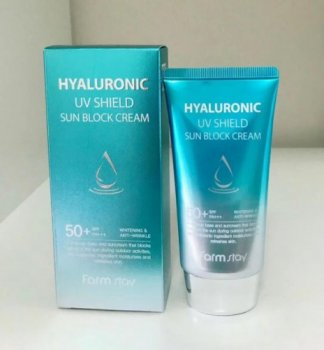 Солнцезащитное средство FarmStay Hyaluronic Uv Shield Sun Block Cream SPF50+ PA+++ (SW0000414)