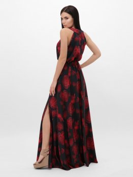 Сарафан Fashion Up Florentine SRF-1814B Красный с черным