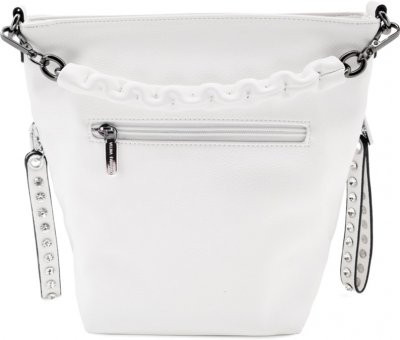 Женская сумка Velina Fabbiano 7772480 Белая (1000007772480)