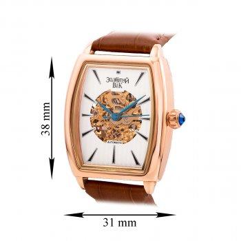 Наручные часы из красного золота с механизмом скелетон 000134573 000134573