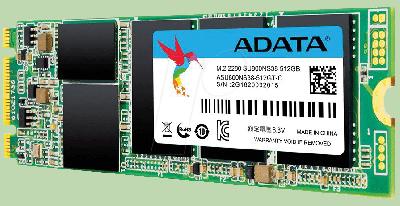 Накопичувач SSD A-DATA Ultimate SU800 512GB M. 2 2280 SATA 6Gb/s 3D NAND TLC (ASU800NS38-512GT-C)