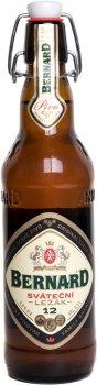 Упаковка пива Bernard светлое фильтрованное 5% 0.5 л х 20 шт (8594003352614)