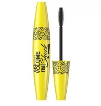 Тушь для ресниц Big Volume Real Shock Mascara Eveline Cosmetics 10мл (5901761982992)