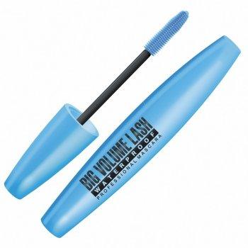 Тушь для ресниц Big Volume Lash Водостойкая Eveline Cosmetics 9мл (5907609337191)