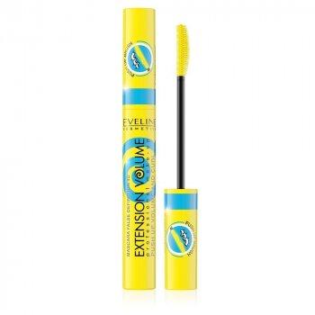Тушь для ресниц 4D Extension Volume False Definition Push Up Eveline Cosmetics 10 мл (5901761966138)