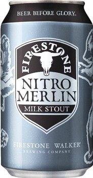 Пиво Firestone Walker NitroMerlinMilkStout темное нефильтрованное 5.5% 0.355 л (250010602101_602755002638)