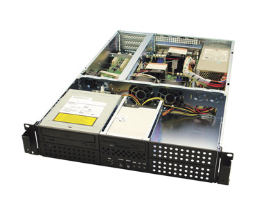 Серверний корпус RMC-2F-0-2 AIC чорний