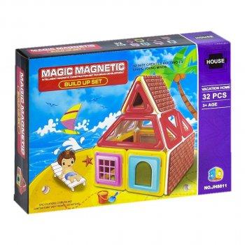 """Конструктор магнитный """"Пляж"""" на 32 детали Magic Magnetic"""