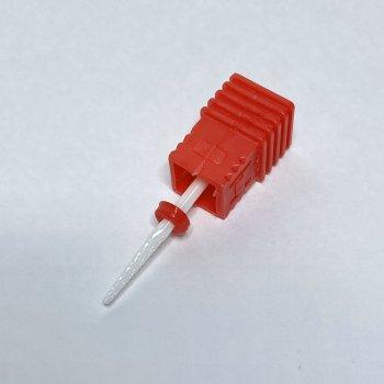 Насадка червона керамічна для фрезера (для кутикули )