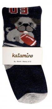 Детские колготки собачка 03 Katamino 78-85 см возраст 12-18 месяцев