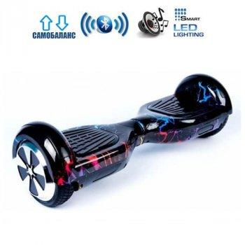 "Гироборд Smart Balance Wheel U6 Pro +Autobalance 6.5"" Цветные молнии (4607589)"