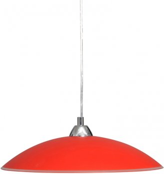 Люстра Декора Індиго 26260 червоний (DE-45699)