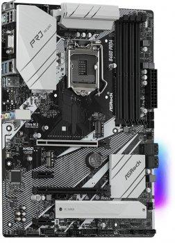 Материнська плата ASRock B460 Pro4 (s1200, Intel B460, PCI-Ex16)