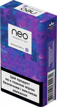 Блок стиків для нагрівання тютюну glo Neo Demi Brilliant Berry 10 пачок (4820215622271)