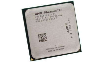 Процесор AMD Phenom II X4 965 BE 4Ядра, 3.4 GHz, sAM3 / AM2+, Tray (HDZ965FBK4DGI) Б/У