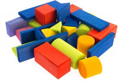 Конструктор Nic деревянный Прованс маленький 27 элементов (Nic523306)