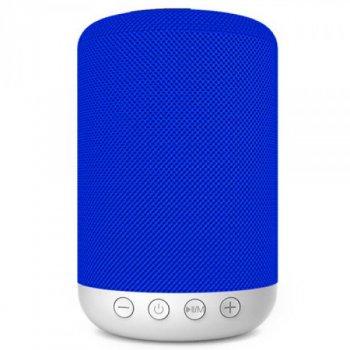 Портативна бездротова акустична колонка Hopestar H34 синя