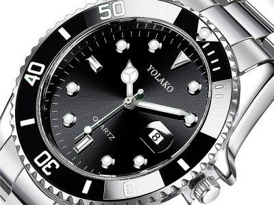 Часы Yolako Кварцевые мужские Черный (1007-062-00)