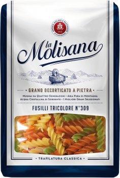 Макарони La Molisana Fusillii Tricolore №309 500 г (8004690110010)