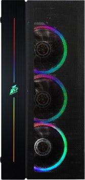 Корпус 1STPLAYER B7-R1 Color LED Black