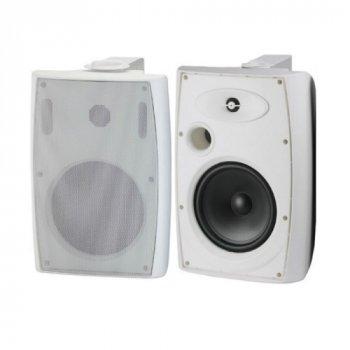 """Настінний динамік L-Frank Audio HYB125-6TAW 6,5"""", 10-40Вт, 100В, білий"""