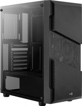 Корпус Aerocool Menace FRGB-G-BK-v1 Tempered Glass Black