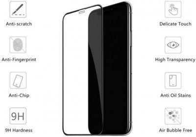 Захисне скло Drobak для Apple iPhone Xr Black (121258)