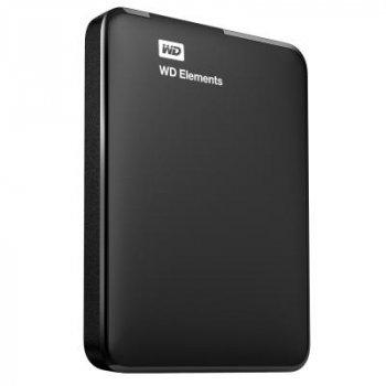 """Зовнішній жорсткий диск HDD 2.5"""" USB 1Tb WD Elements Black (WDBUZG0010BBK-WESN)"""