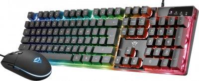 Комплект дротовий Trust GXT 838 Azor Gaming Combo USB (TR23722)