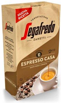 Кава мелена Segafredo Espresso Casa 225 г (8003410243588)