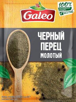 Упаковка перцю Galeo Чорного меленого 15 г х 7 шт. (5900084267199)