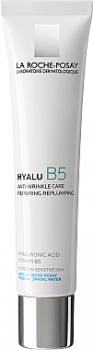 Крем для лица Дерматологический крем для коррекции морщин и восстановления упругости чувствительной кожи La Roche-Posay Hyalu B5 Cream 40 мл (3337875583589)