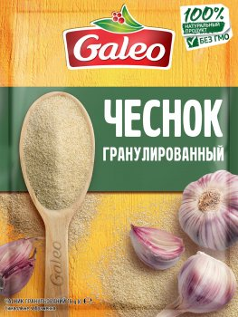 Упаковка специй Galeo Чеснок гранулированный 16 г х 7 шт (5900084267182)