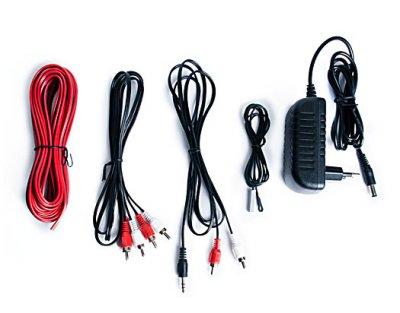 Колонки 2.0 REAL-EL S-2020 black (Bluetooth, USB flash, FM, Karaoke, ДУ)