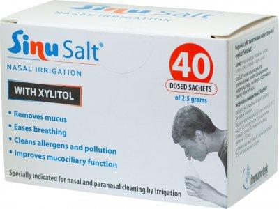 Соль для промывания носа SinuSalt в пакетах №40 (8470001640420)