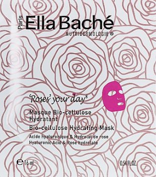 Маска для лица Био-целлюлозная розовая маска Ella Bache Bio-Cellulose Hydrating Mask 8 мл (3443321026378)