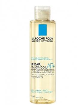 Масло для тіла Зволожуючий липидовосстанавливающее масло проти роздратування La Roche-Posay Lipikar Huile AP+ 200 мл (3337875656771)